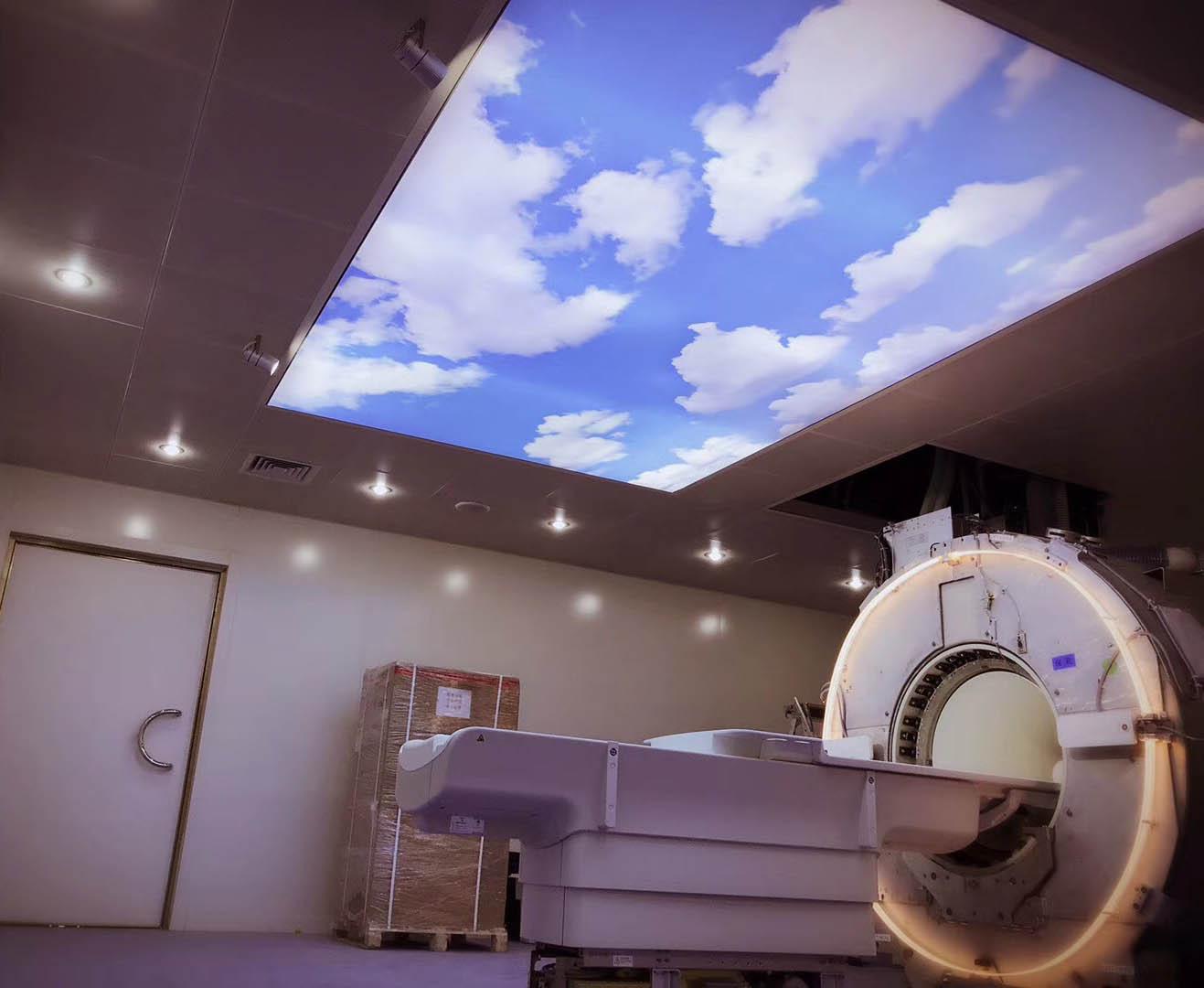 磁共振雷竞技app安卓版室蓝天白云效果展示